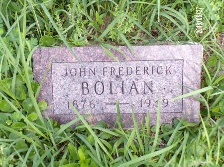 BOLIAN, JOHN FREDERICK - St. Tammany County, Louisiana | JOHN FREDERICK BOLIAN - Louisiana Gravestone Photos