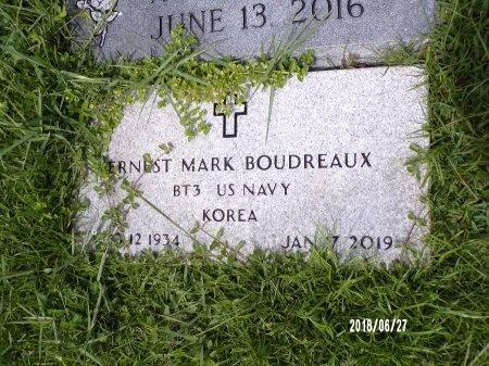BOUDREAUX, ERNEST MARK (VETERAN KOR) - St. Tammany County, Louisiana   ERNEST MARK (VETERAN KOR) BOUDREAUX - Louisiana Gravestone Photos
