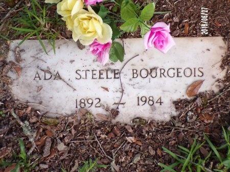 STEELE BOURGEOIS, ADA  - St. Tammany County, Louisiana | ADA  STEELE BOURGEOIS - Louisiana Gravestone Photos