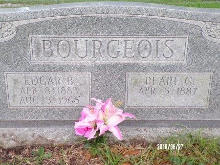 BOURGEOIS, PEARL G - St. Tammany County, Louisiana | PEARL G BOURGEOIS - Louisiana Gravestone Photos