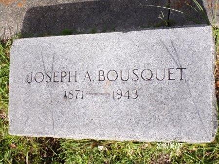 BOUSQUET, JOSEPH A - St. Tammany County, Louisiana | JOSEPH A BOUSQUET - Louisiana Gravestone Photos