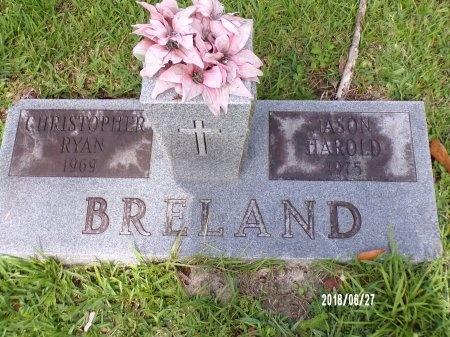 BRELAND, JASON HAROLD - St. Tammany County, Louisiana | JASON HAROLD BRELAND - Louisiana Gravestone Photos