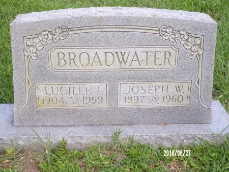 BROADWATER, LUCILLE INA - St. Tammany County, Louisiana | LUCILLE INA BROADWATER - Louisiana Gravestone Photos