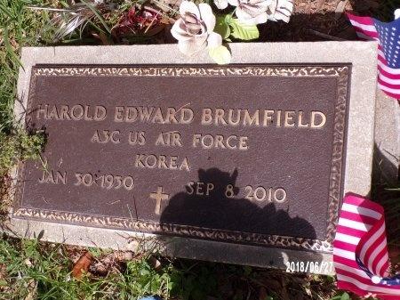 BRUMFIELD, HAROLD EDWARD (VETERAN KOR) - St. Tammany County, Louisiana   HAROLD EDWARD (VETERAN KOR) BRUMFIELD - Louisiana Gravestone Photos