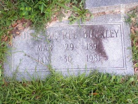 MCREE BUCKLEY, ADDIE - St. Tammany County, Louisiana | ADDIE MCREE BUCKLEY - Louisiana Gravestone Photos