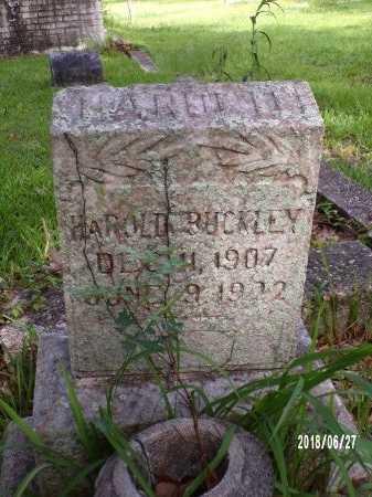 BUCKLEY, HAROLD - St. Tammany County, Louisiana | HAROLD BUCKLEY - Louisiana Gravestone Photos