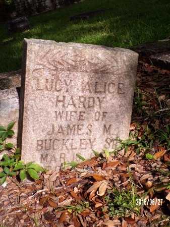 BUCKLEY, LUCY ALICE - St. Tammany County, Louisiana | LUCY ALICE BUCKLEY - Louisiana Gravestone Photos