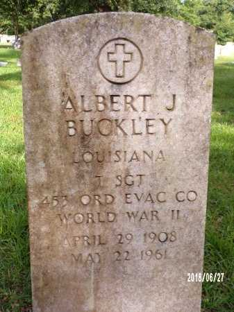 BUCKLEY , ALBERT J  (VETERAN WWII) - St. Tammany County, Louisiana | ALBERT J  (VETERAN WWII) BUCKLEY  - Louisiana Gravestone Photos