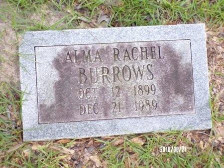 BURROWS, ALMA RACHEL - St. Tammany County, Louisiana | ALMA RACHEL BURROWS - Louisiana Gravestone Photos