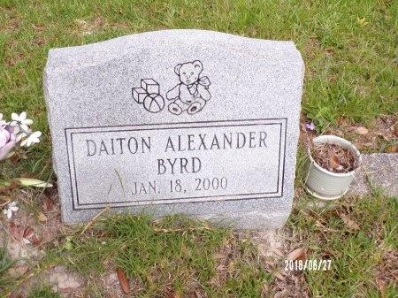 BYRD, DAITON ALEXANDER - St. Tammany County, Louisiana   DAITON ALEXANDER BYRD - Louisiana Gravestone Photos