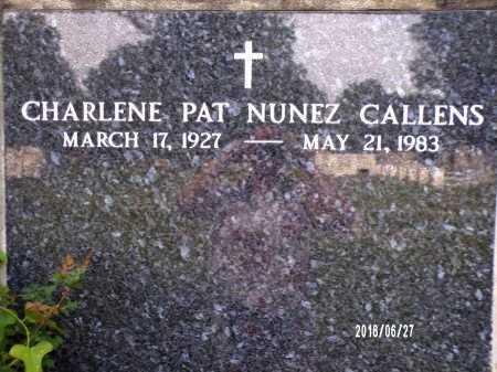 CALLENS, CHARLENE PAT - St. Tammany County, Louisiana   CHARLENE PAT CALLENS - Louisiana Gravestone Photos