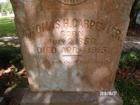 CARPENTER, THOMAS HERBERT (CLOSE UP) - St. Tammany County, Louisiana | THOMAS HERBERT (CLOSE UP) CARPENTER - Louisiana Gravestone Photos