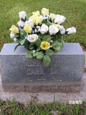 CARR, ALFRED E, SR - St. Tammany County, Louisiana   ALFRED E, SR CARR - Louisiana Gravestone Photos