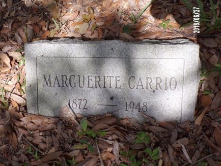 CARRIO, MARGUERITE (CLOSE UP) - St. Tammany County, Louisiana | MARGUERITE (CLOSE UP) CARRIO - Louisiana Gravestone Photos