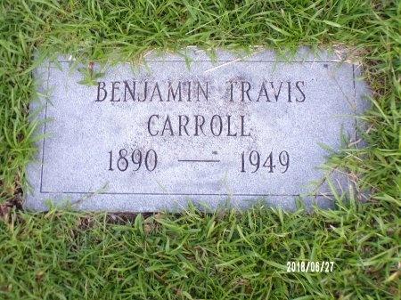 CARROLL, BENJAMIN TRAVIS - St. Tammany County, Louisiana | BENJAMIN TRAVIS CARROLL - Louisiana Gravestone Photos