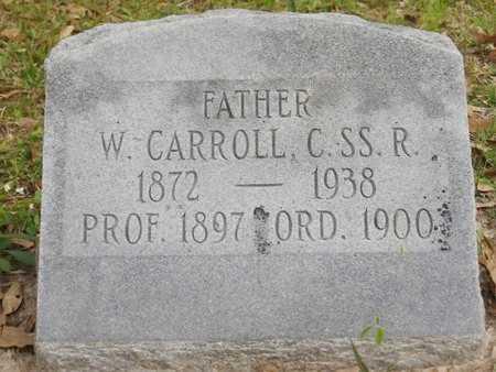 CARROLL, W, C SS R - St. Tammany County, Louisiana | W, C SS R CARROLL - Louisiana Gravestone Photos
