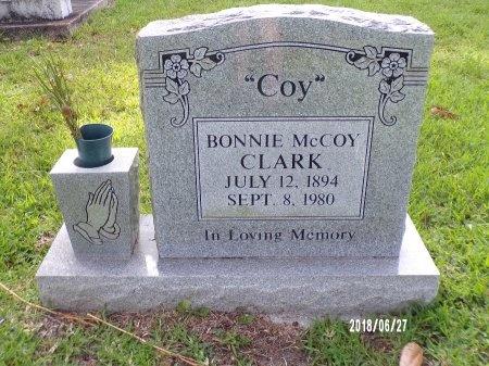"MCCOY CLARK, BONNIE ""COY"" - St. Tammany County, Louisiana   BONNIE ""COY"" MCCOY CLARK - Louisiana Gravestone Photos"