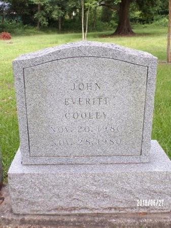 COOLEY, JOHN EVERITT - St. Tammany County, Louisiana   JOHN EVERITT COOLEY - Louisiana Gravestone Photos