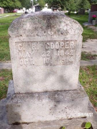 COOPER, CORNELIUS RANDALL - St. Tammany County, Louisiana | CORNELIUS RANDALL COOPER - Louisiana Gravestone Photos