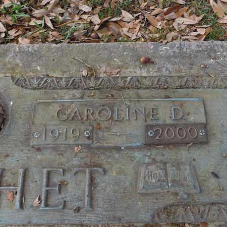 CROCHET, CAROLINE D  (CLOSE-UP) - St. Tammany County, Louisiana   CAROLINE D  (CLOSE-UP) CROCHET - Louisiana Gravestone Photos