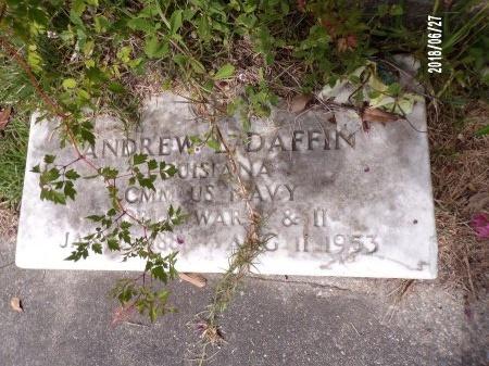 DAFFIN, ANDREW LITTLETON  (VETERAN 2 WARS) - St. Tammany County, Louisiana   ANDREW LITTLETON  (VETERAN 2 WARS) DAFFIN - Louisiana Gravestone Photos