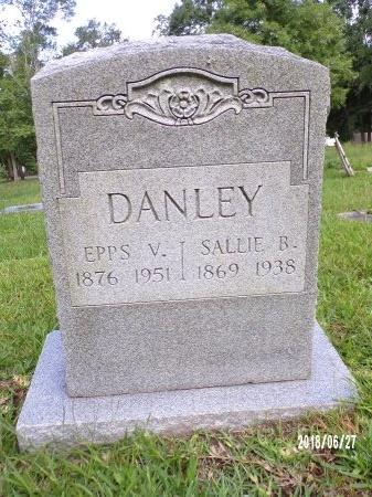 BROADUS DANLEY, SALLIE - St. Tammany County, Louisiana | SALLIE BROADUS DANLEY - Louisiana Gravestone Photos