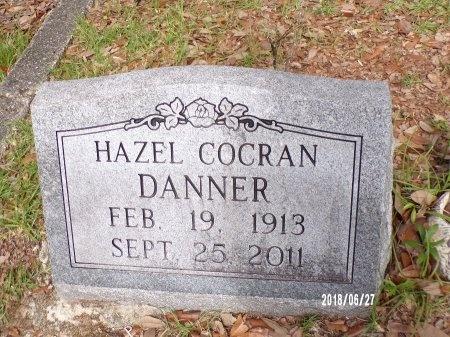COCRAN DANNER, HAZEL - St. Tammany County, Louisiana | HAZEL COCRAN DANNER - Louisiana Gravestone Photos