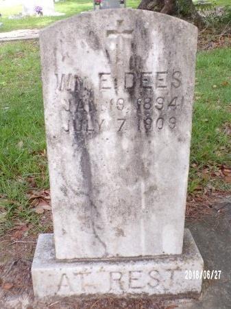 DEES, WILLIAM E - St. Tammany County, Louisiana | WILLIAM E DEES - Louisiana Gravestone Photos
