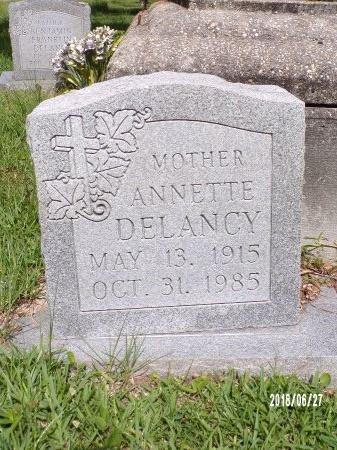 DELANCY, ANNETTE - St. Tammany County, Louisiana | ANNETTE DELANCY - Louisiana Gravestone Photos