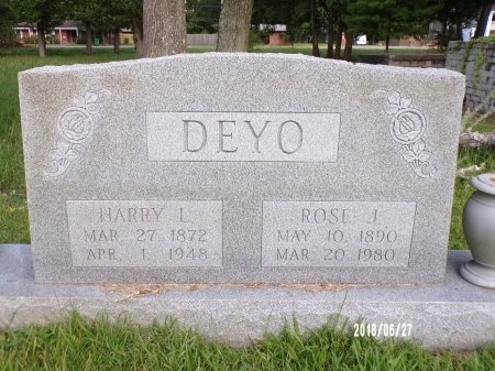 DEYO, HARRY LAWRENCE - St. Tammany County, Louisiana | HARRY LAWRENCE DEYO - Louisiana Gravestone Photos
