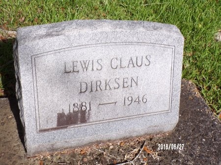 DIRKSEN, LEWIS CLAUS - St. Tammany County, Louisiana | LEWIS CLAUS DIRKSEN - Louisiana Gravestone Photos