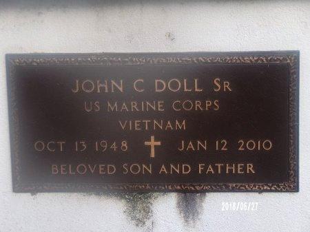 DOLL, JOHN C, SR  (VETERAN VIET) - St. Tammany County, Louisiana | JOHN C, SR  (VETERAN VIET) DOLL - Louisiana Gravestone Photos
