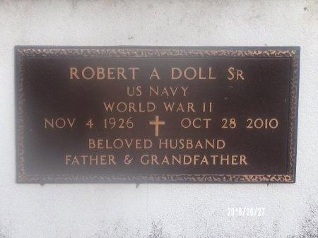 DOLL, ROBERT A, SR (VETERAN WWII) - St. Tammany County, Louisiana | ROBERT A, SR (VETERAN WWII) DOLL - Louisiana Gravestone Photos