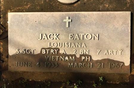 EATON  , JACK  (VETERAN VIET, KIA) - St. Tammany County, Louisiana   JACK  (VETERAN VIET, KIA) EATON   - Louisiana Gravestone Photos