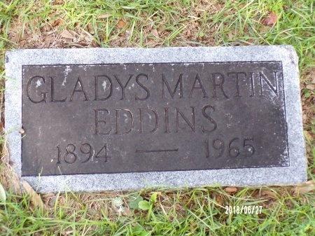 MARTIN EDDINS, GLADYS - St. Tammany County, Louisiana   GLADYS MARTIN EDDINS - Louisiana Gravestone Photos