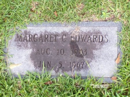 CRITTENDEN EDWARDS, MARGARET - St. Tammany County, Louisiana | MARGARET CRITTENDEN EDWARDS - Louisiana Gravestone Photos