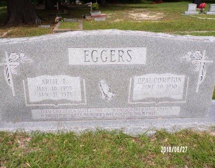 EGGERS, ARLIE E - St. Tammany County, Louisiana   ARLIE E EGGERS - Louisiana Gravestone Photos