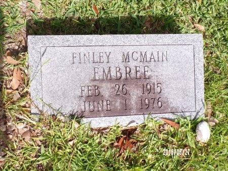 EMBREE, FINLEY MCMAIN - St. Tammany County, Louisiana | FINLEY MCMAIN EMBREE - Louisiana Gravestone Photos