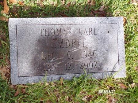 EMBREE, THOMAS CARL - St. Tammany County, Louisiana   THOMAS CARL EMBREE - Louisiana Gravestone Photos