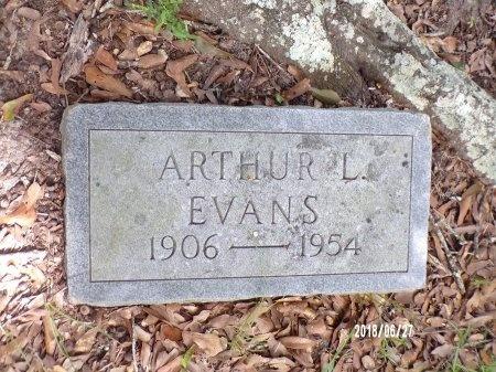 EVANS, ARTHUR L - St. Tammany County, Louisiana   ARTHUR L EVANS - Louisiana Gravestone Photos