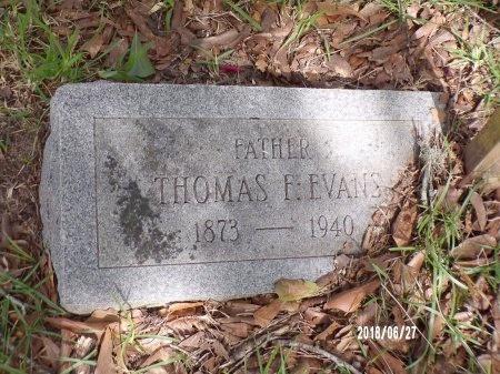 EVANS, THOMAS F - St. Tammany County, Louisiana | THOMAS F EVANS - Louisiana Gravestone Photos