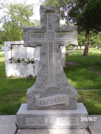 FACIANE, J EUGENIE - St. Tammany County, Louisiana | J EUGENIE FACIANE - Louisiana Gravestone Photos