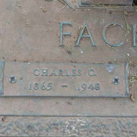 FACIANE, CHARLES C  (CLOSE-UP) - St. Tammany County, Louisiana | CHARLES C  (CLOSE-UP) FACIANE - Louisiana Gravestone Photos