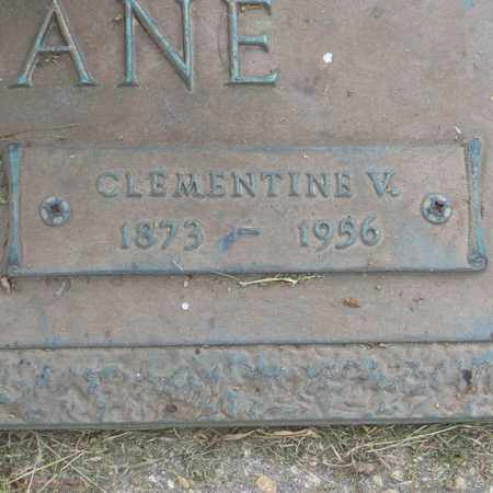 FACIANE, CLEMENTINE  V (CLOSE-UP) - St. Tammany County, Louisiana   CLEMENTINE  V (CLOSE-UP) FACIANE - Louisiana Gravestone Photos