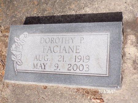 FACIANE, DOROTHY - St. Tammany County, Louisiana | DOROTHY FACIANE - Louisiana Gravestone Photos