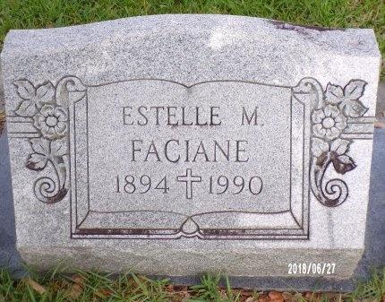 FACIANE, ESTELLE MARIE - St. Tammany County, Louisiana | ESTELLE MARIE FACIANE - Louisiana Gravestone Photos