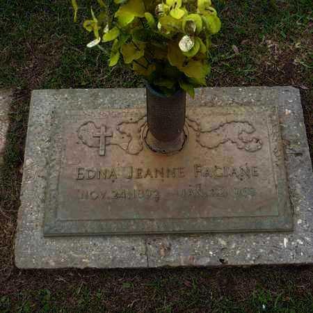 FACIANE, EDNA JEANNE - St. Tammany County, Louisiana | EDNA JEANNE FACIANE - Louisiana Gravestone Photos