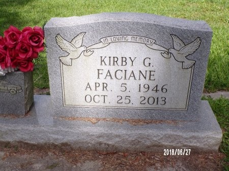 FACIANE, KIRBY G - St. Tammany County, Louisiana | KIRBY G FACIANE - Louisiana Gravestone Photos