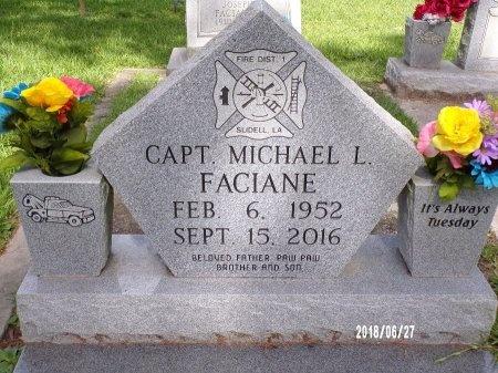 FACIANE, MICHAEL L - St. Tammany County, Louisiana | MICHAEL L FACIANE - Louisiana Gravestone Photos