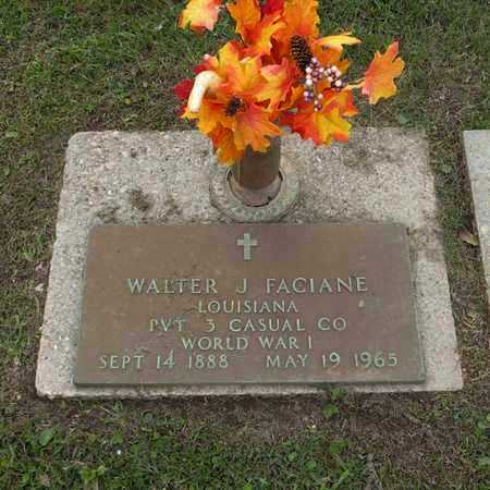 FACIANE, WALTER J  (VETERAN WWI) - St. Tammany County, Louisiana | WALTER J  (VETERAN WWI) FACIANE - Louisiana Gravestone Photos